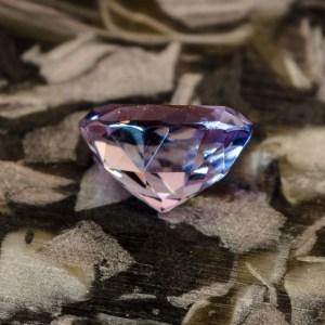 Purple MT sapphire