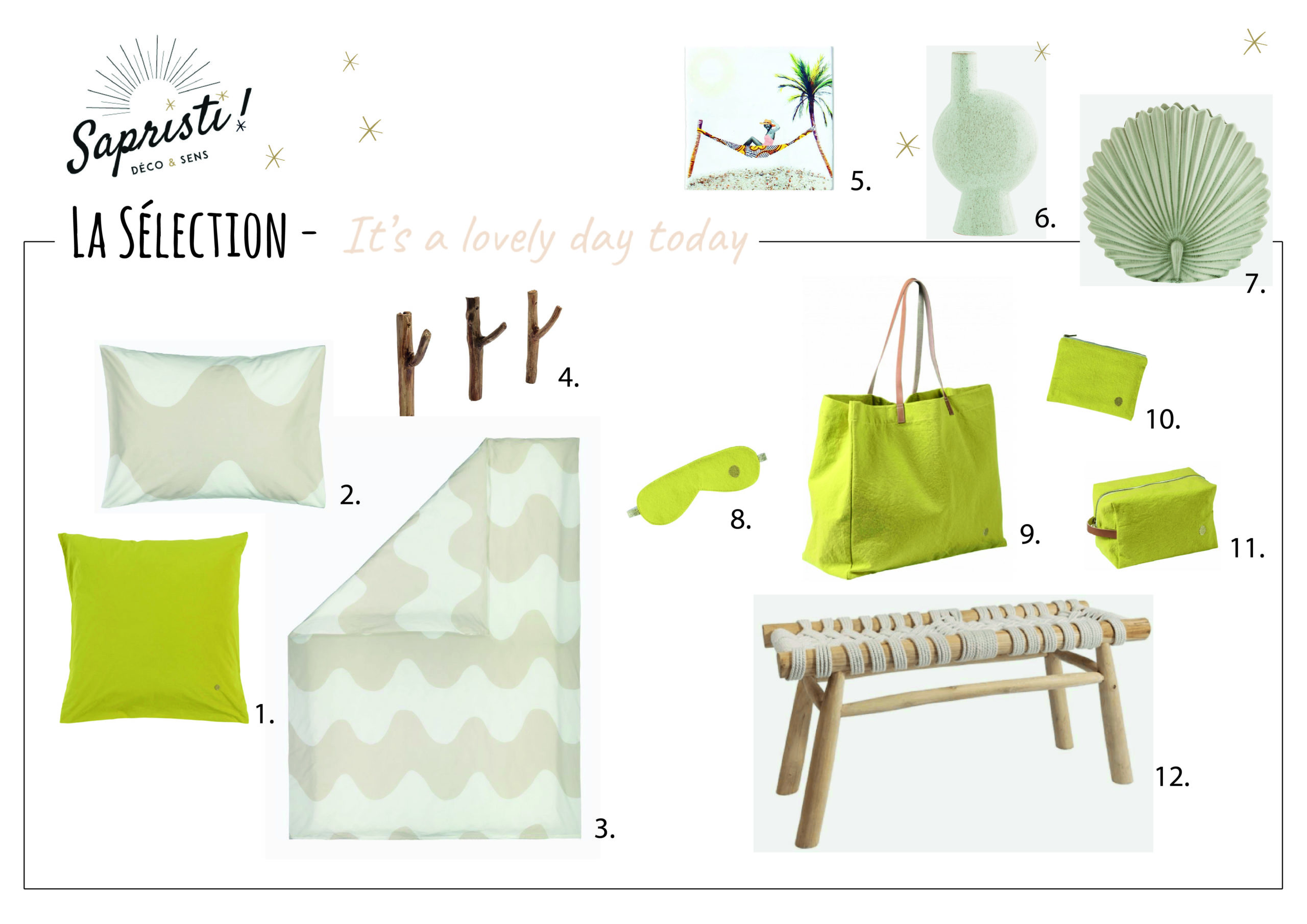 planche shopping it's a lovely day today_Plan de travail 1