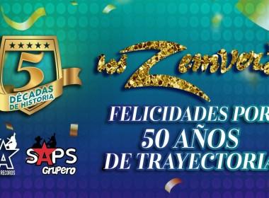 Los Zemvers, 50 aniversario