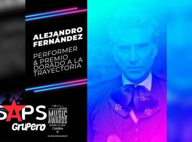 """Alejandro Fernández recibirá el """"Premio Dorado A La Trayectoria """""""
