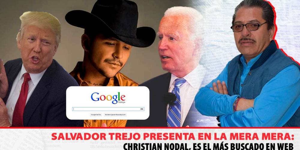 Christian Nodal, el más buscado, google