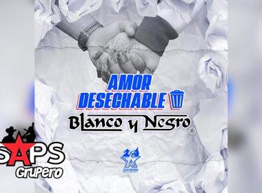 Letra Amor Desechable – Blanco Y Negro