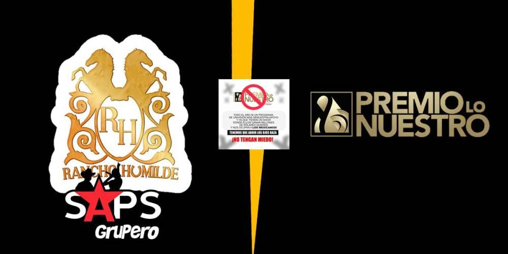 Rancho Humilde, Premio Lo Nuestro, Univisión