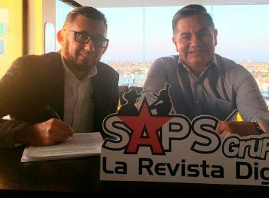 Agustín García dueño de Los Kassino de Chucho Pinto firma con SAPS Records