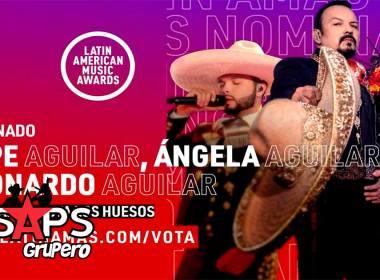Pepe, Ángela y Leonardo Aguilar nominados a los Latin American Music Awards