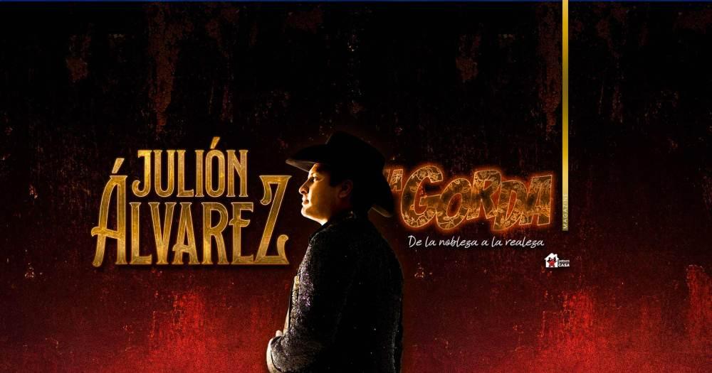 Julión Álvarez y Su Norteño Banda, Portada La Gorda Magazine Mayo 2021
