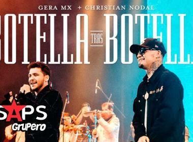 "Christian Nodal y Gera MX rompen récords en Spotify con ""Botella Tras Botella"""