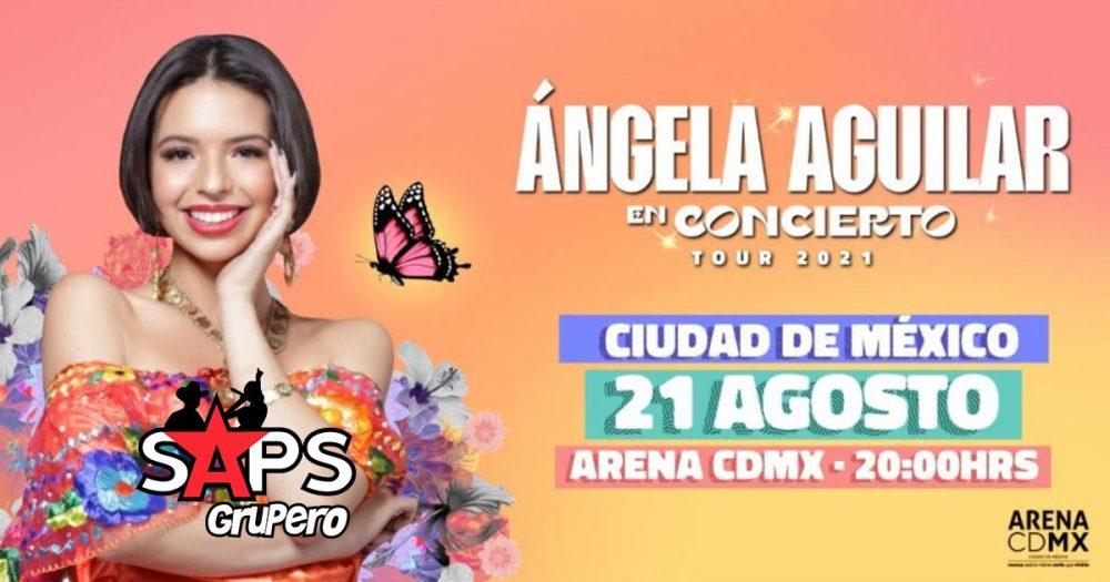 Ángela Aguilar en concierto tour 2021