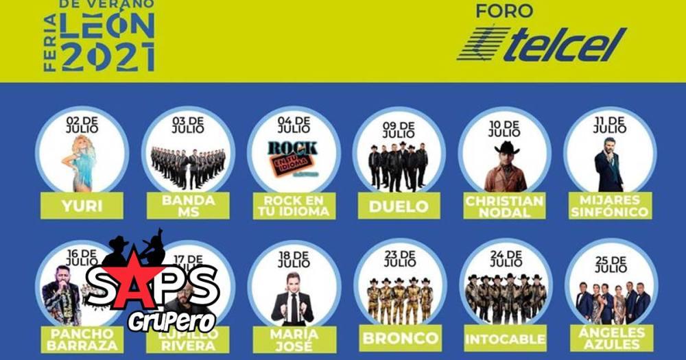 Feria León 2021, Christian Nodal, Lupillo Rivera