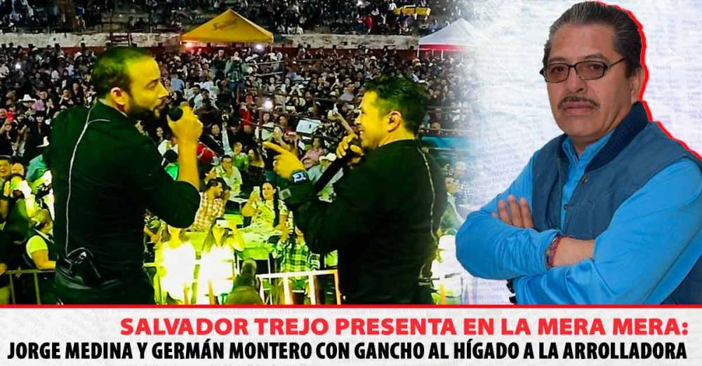 Jorge Medina y Germán Montero, Azul
