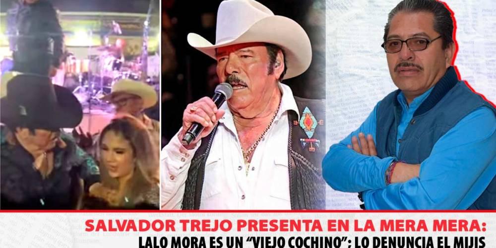 Lalo Mora, Viejo Cochino, denuncia el mijis
