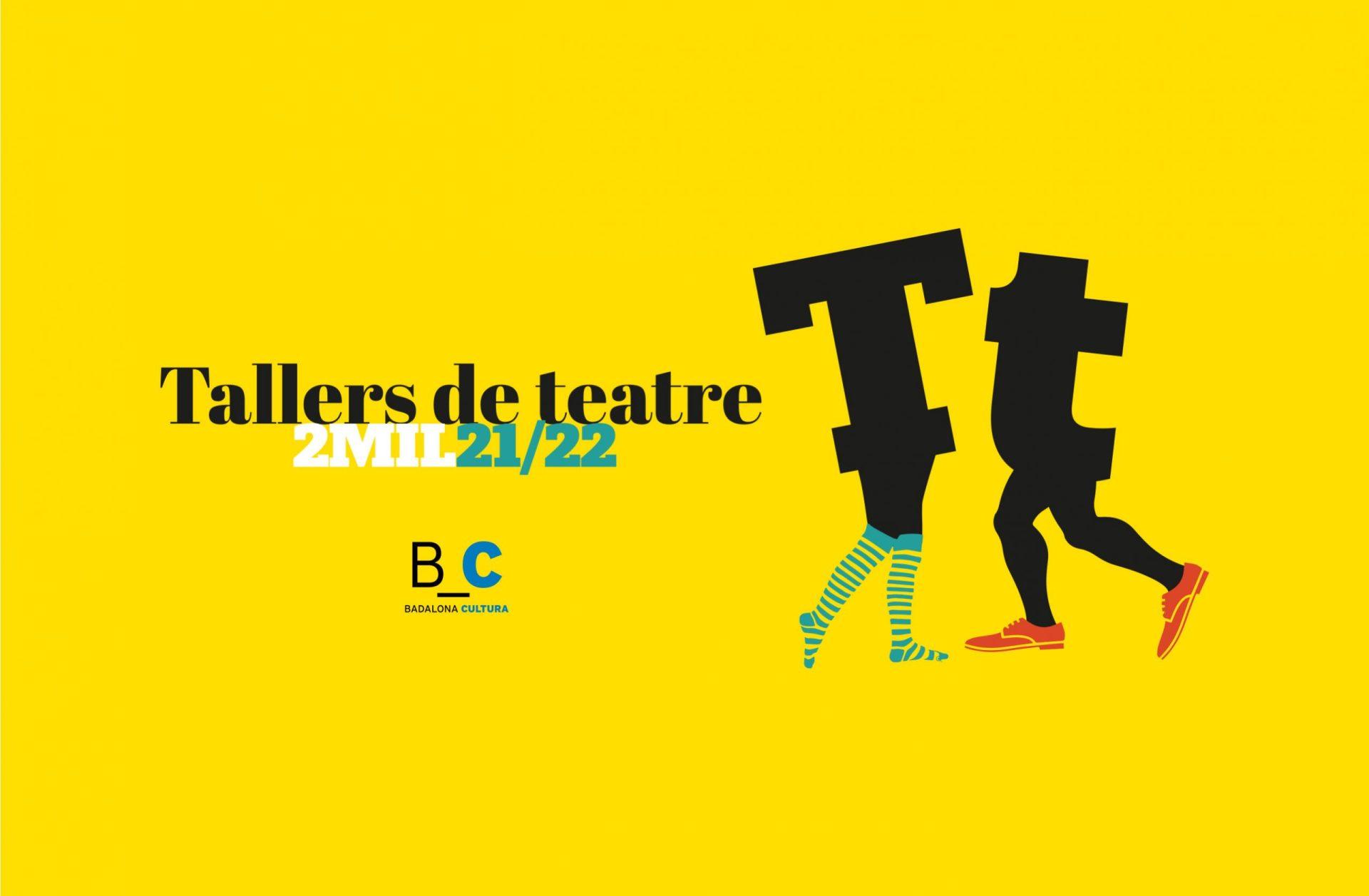 Badalona Cultura tallers de teatre