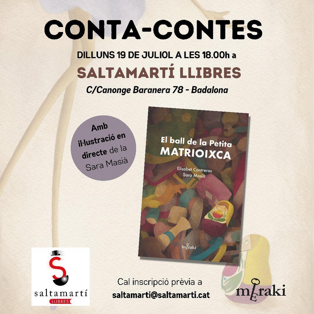 Conta-Contes amb la Bet Contreras i la Sara Masià