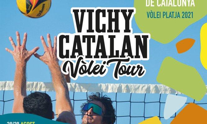 final del Campionat de Catalunya de Vòlei Platja Vichy Catalan Vòlei Tour