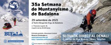 35ena SETMANA DE MUNTANYISME DE BADALONA
