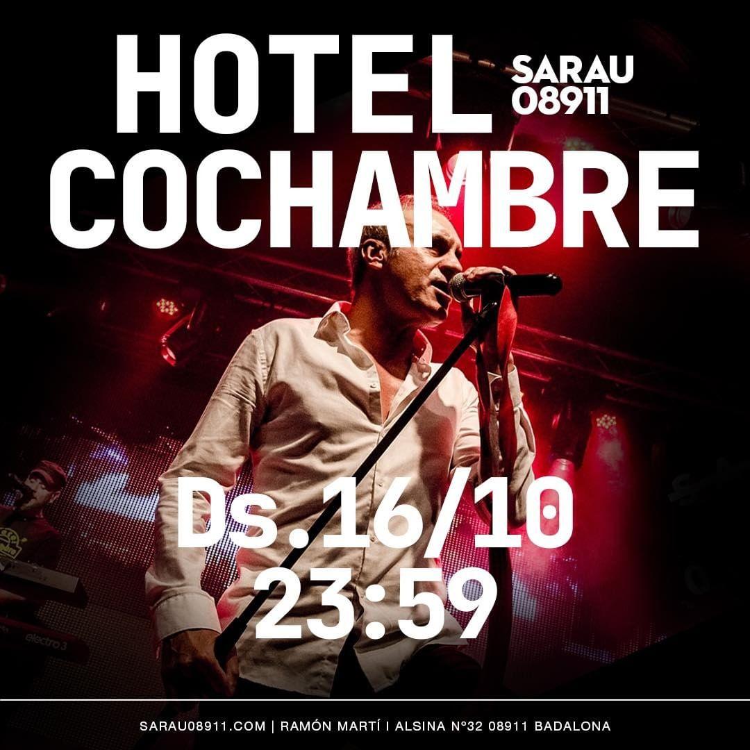 Hotel Cochambre concert al Sarau 08911