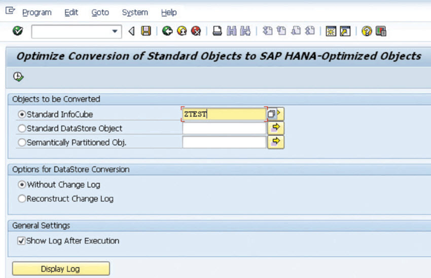 convert-standard-infocubes-to-sap-hana-optimized-infocube