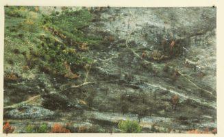 Cent terres, 95x152cm, impression jet d'encre, papier semi-gloss, 230gr/m2, 2017