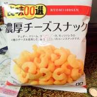 {菓}東ハト/良味100選  濃厚チーズスナック