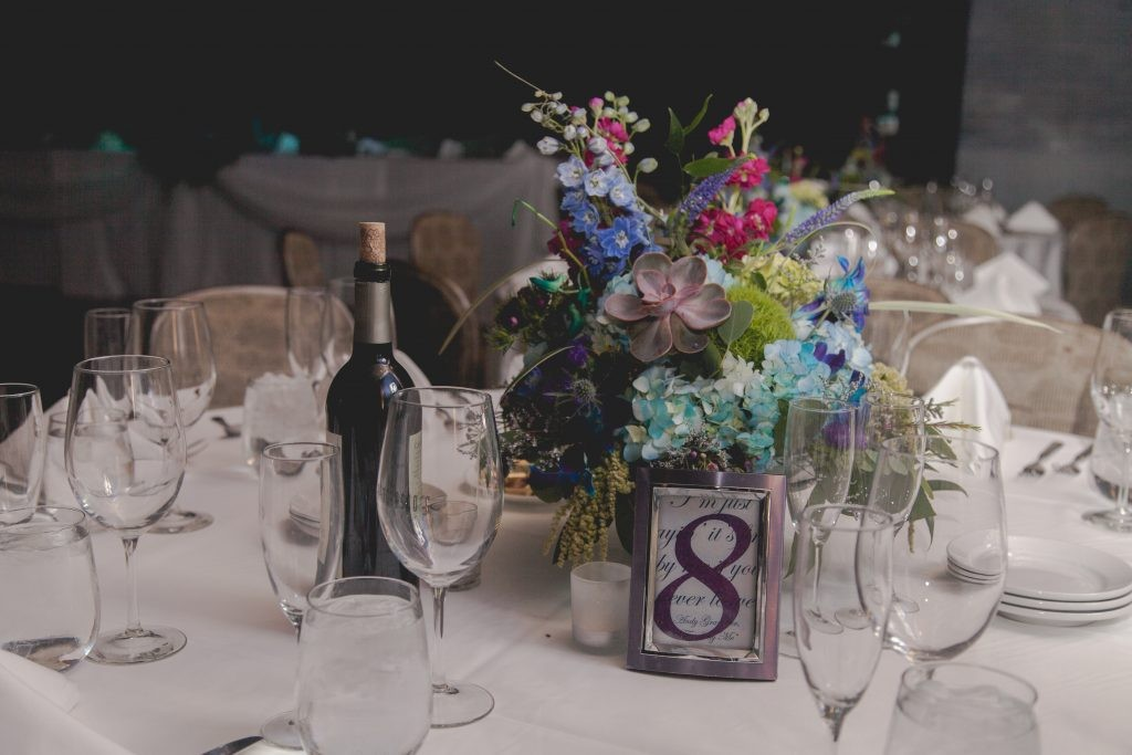 Colorfully Inspired Franchesco's Summer Wedding Reception with stunning florals and vintage styled elegance, photographed by Sara Anne Johnson Rockford, Illinois Wedding Photography