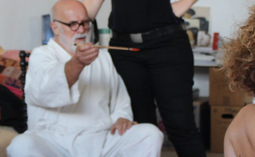 The way of the ink : Alain Bonnefoit