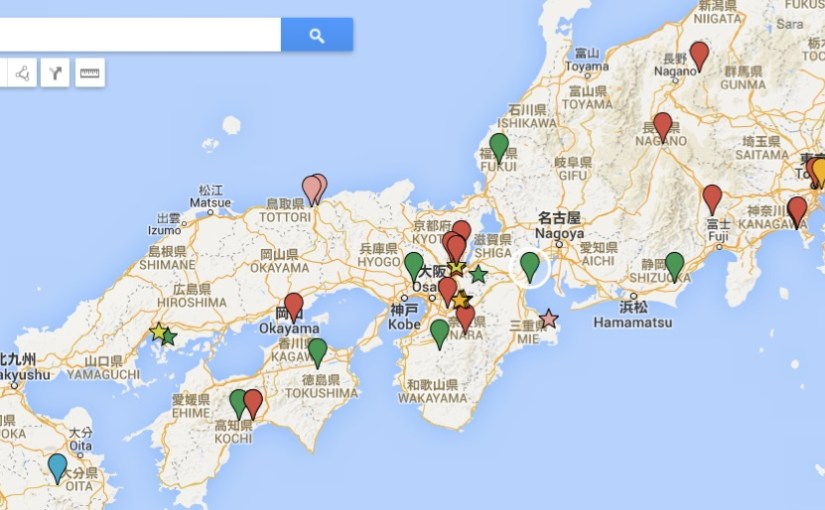 … My Maps is very useful!