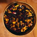 meatless monday: wild rice and beet salad