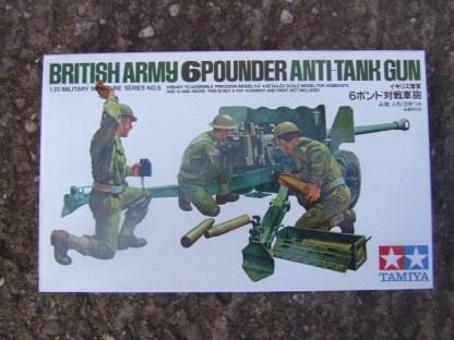 British 6 pdr Anti Tank Gun