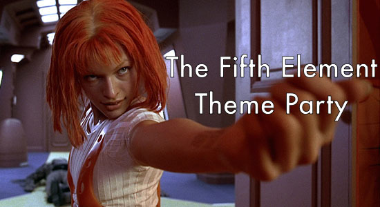 The Fifth Element Theme Party