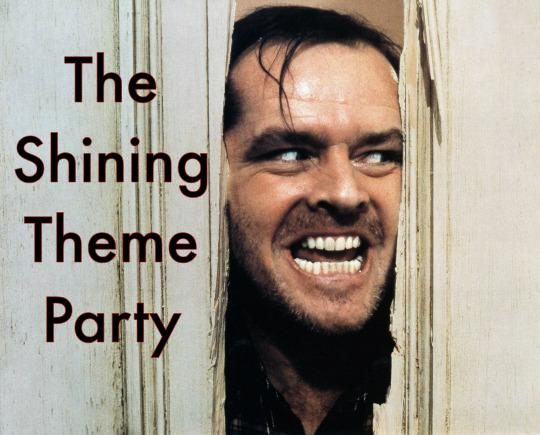 The Shining Theme Party Featured Image