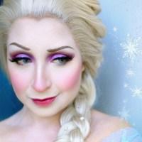 Elsa Cosplay + Makeup from Frozen