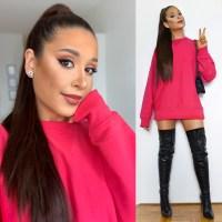 Ariana Grande Costume + Makeup