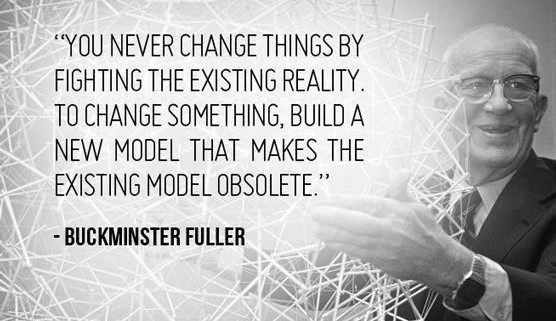 Build a new model that makes the existing model obsolete