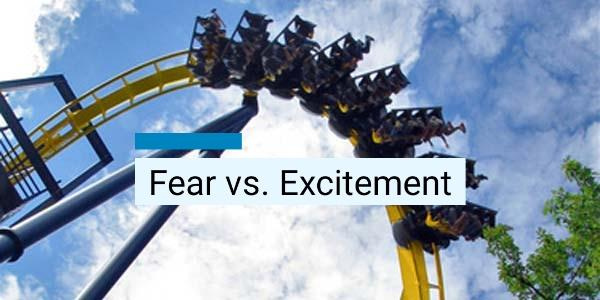 Fear and Excitement Trigger the Same Physiological Response