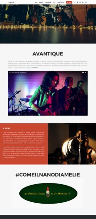 LA METRALLI WEBSITE 2015 SARA GARAGNANI