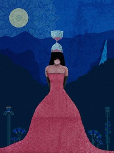 FLORENCE AND THE MACHINE Illustration-SARA GARAGNANI