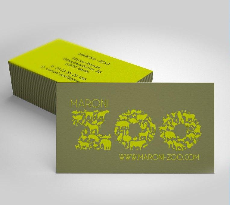 Visitenkarte Maroni Zoo