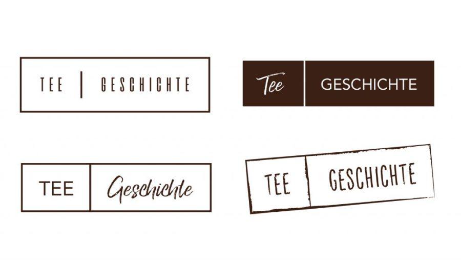 Logoentwicklung für Tee Geschichten