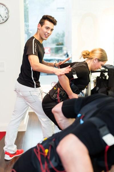 Imagefoto Hamburg Firmenportrait Portraitshooting EMS Training