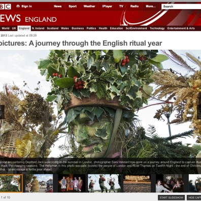 BBC News In Pictures: A Journey through the English ritual year, 25.10.13