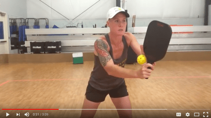 anticipate a pickleball opponent's shot