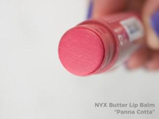 NYX Butter Lip Balm - Panna Cotta