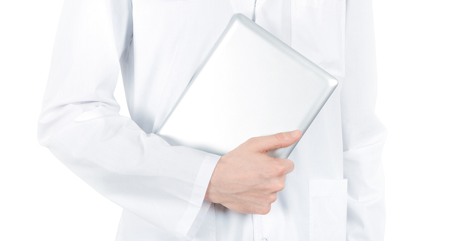 Doctor With Digital Tablet Pc