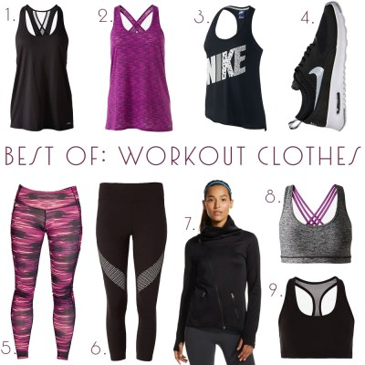 Best of: Workout Clothes + My Fitness Story