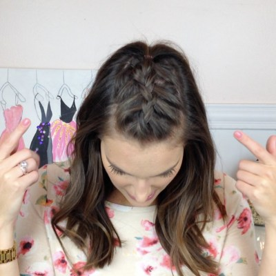 Braided Fauxhawk Tutorial