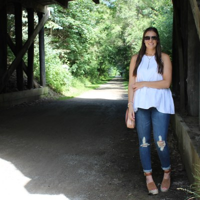 Classic White Tank for Summer
