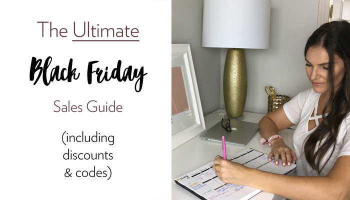 The Ultimate Black Friday Sales Guide