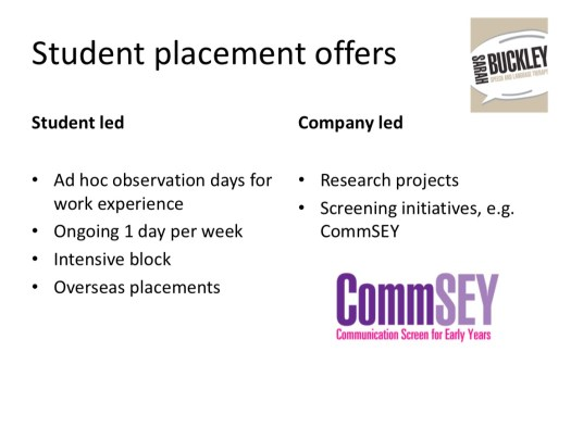 Student placement offers