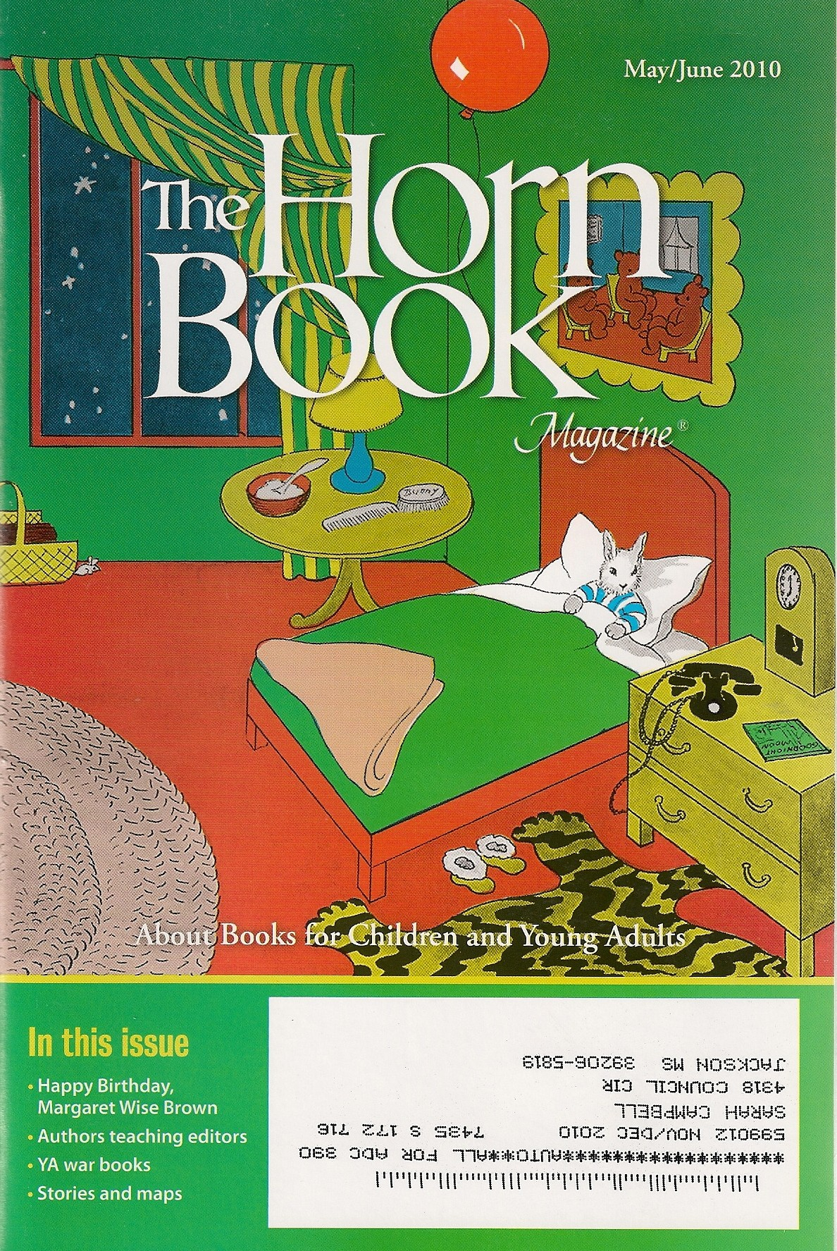 Horn Book Review For Growing Patterns