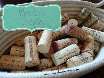 Wine Corks To Corkboard
